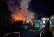 Brand eines Gartenhauses in Gau-Bickelheim